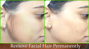 remove hair permanently 100 natural effective instant remedy smooth soft fair face athome