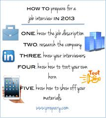 how to prepare for a job interview in job search advice how to prepare for a job interview in 2013