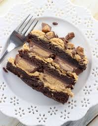 peanut butter cup brownies. Modren Peanut Peanut Butter Cup Brownie Torte 19 With Peanut Butter Cup Brownies