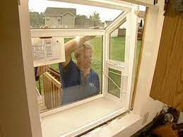 how to fit and install a garden window