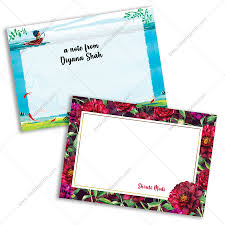 Note Cards Online India Personalized Note Cards Printing