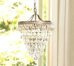 glass drop rectangular chandelier pottery barn clarissa extra long installation