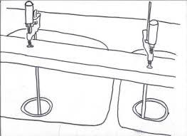 Kitchen How To Install Sink Clips How To Install Undermount - Installing a kitchen sink