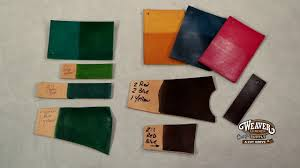 Fiebings Suede Dye Color Chart The Leather Element Mixing Leather Dye Colors