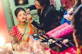 bridal makeup captured by candid affair