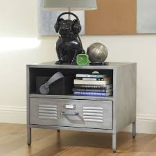 Creative Bedside Table Solutions And Ideas In The Most Awesome And Also  Lovely Locker Bedside Table With Regard To The House