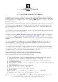 Visa Application Cover Letter Cover Letter Format Schengen Visa Germany Tourist
