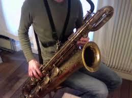 4 Octave Altissimo Baritone Saxophone Paraschos Wooden Neck