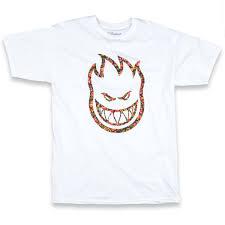 spitfire t shirt. spitfire bighead floral premium t-shirt - white t shirt