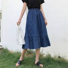 US $13.79 29% OFF|<b>Wasteheart</b> Blue <b>Pink</b> Women Skirts Women ...