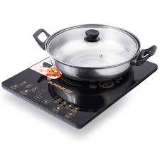 SIÊU RẺ] Bếp điện từ cảm ứng SUNHOUSE SHD6870 Tặng Nồi Lẩu, Giá siêu rẻ  983,000đ! Mua liền tay! - SaleZone Store