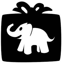 white elephant gift clip art.  Elephant Clip Art White Elephant Party Clipart 1 On Gift E