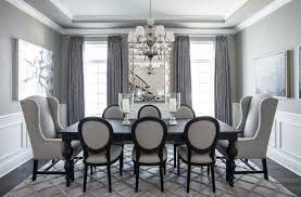 Why You Should Choose A Monochromatic Color Palette By Micle Mihai Classy Grey Dining Room