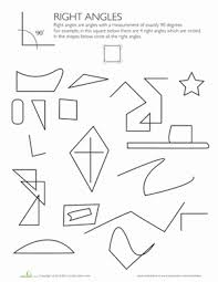 83caafa18c14a540d7ede2040658b980 shapes with right angles teaching math, math classroom and on slide flip turn worksheet
