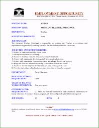 Example Teaching Resumes 53 Awesome Teaching Assistant Resume Example You Have To Know