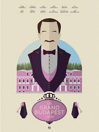 the best grand budapest hotel poster ideas the grand budapest hotel 2014 minimal movie poster by matt needle amusementphile