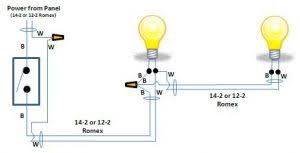 how to wire two lights controlled from one switch two lights operated by one switch