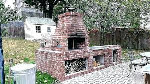 outdoor fire pit cooking brick designs awesome family wood paver plans b brick fire pit