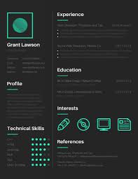 Free Graphic Resume Templates Visual Resume Template Best Cover Letter 21