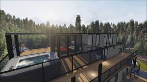 Container Home Design Nauta Home Designs Contemporary Container House In Muskoka Youtube