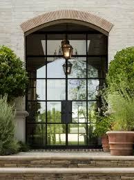 steel frame entry door 10 oversized metal and glass front doors elegant