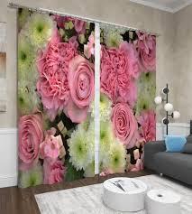 """<b>Фотошторы Сирень</b> """"<b>Астры и</b> розы"""", ФШБЛ001-13506, розовый ..."""