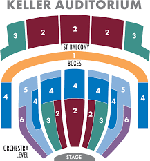 Seating Charts Oregon Ballet Theatre Portland Oregon