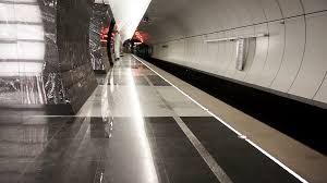 empty subway tunnel.  Tunnel Metro Train Arrives At An Empty Subway Station HD 1920x1080 Stock Video  Footage  Videoblocks Intended Empty Subway Tunnel VideoBlocks