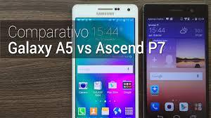 Comparativo: Galaxy A5 vs Ascend P7   Tudocelular.com - YouTube