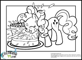 Small Picture Pinkie Pie Coloring Pages 18052