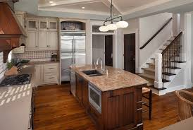 Kitchen Island Sink with Dishwasher, Transitional, Kitchen