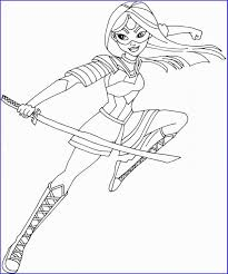 20 Dc Super Hero Girls Coloring Pages Kido Coloring