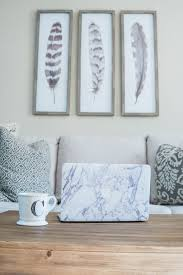 target wall art set feathers oh so glam