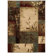oriental weavers of america harper indoor nature area rug common 4 x 6