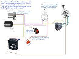 wiring diagram for motorcycle led lights webtor me with shouhui and motorcycle wiring diagram symbols solar circuits motorcycle led turn signal wiring harness and diagram