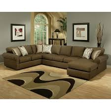 Furniture of America Keaton Chenille Sectional Sofa Free