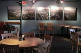 to add a focal point to the banquet room of norton s restaurant in red wing