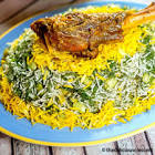 baghala polo    iranian rice with lamb  dill and lima beans