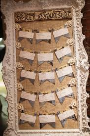 Burlap Decor Seating Assignment Tag Display Wedding Ideas Pinterest