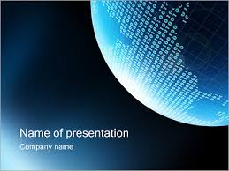Powerpoint World Digital World Powerpoint Template Infographics Slides