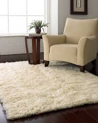Creativity Fluffy White Area Rug For Under The Bed On Design Ideas