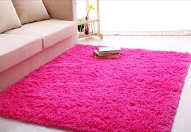 Amazon.com: Forever Lover Soft Indoor Morden Shaggy Area Rug Pad, 2.5 X  5-Feet, Hot Pink: Kitchen & Dining