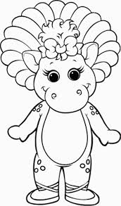Small Picture 24 best Barney Coloring Pages images on Pinterest Coloring