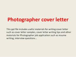 Best Ideas Of Sample Cover Letter For Photojournalist Job Best