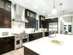 dark floors light cabinets industrial pendant wooden laminated ceiling black dining red stained kitchen countertops countertop