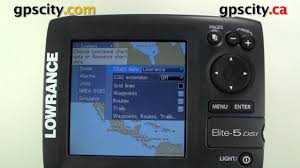 Lowrance Elite 5 Video Manual Selecting Charts To View