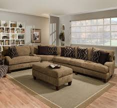 L Shaped Couch Living Room Furniture Grey Sectional Couches Grey Rug Cream Wall Cool