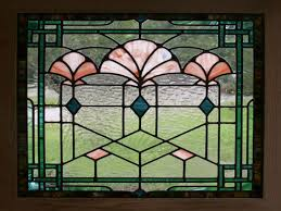 Interior  Faux Stained Glass Window Film To Little Pictures Of - Decorative glass windows for bathrooms