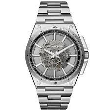 men s michael kors watches ernest jones michael kors wilder men s stainless steel bracelet watch product number 4777905