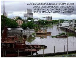 Resultado de imagen para foto inundaciones en concepcion del uruguay